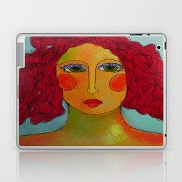 Bad Hair Day Abstract Digital Painting Laptop & iPad Skin