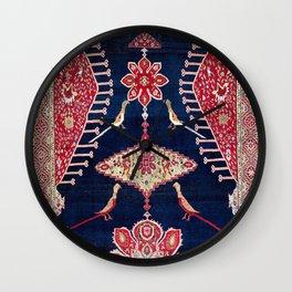 Karabagh Azerbaijan South Caucasus Kelleh Rug Print Wall Clock