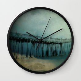 Night Pier Wall Clock