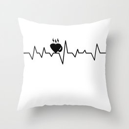 coffee T-shirt Throw Pillow