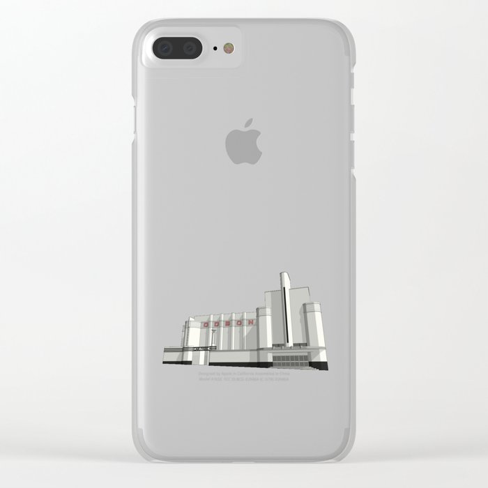 ODEON Woolwich Clear iPhone Case