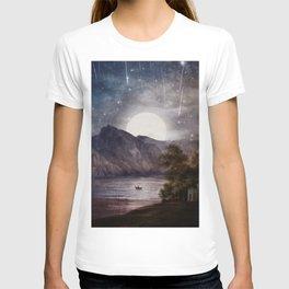 Love under A Wishing Star Sky T-shirt