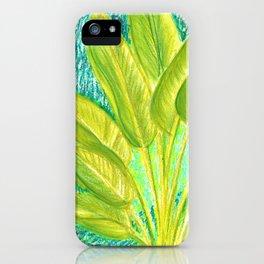 caribe beach and garden iPhone Case