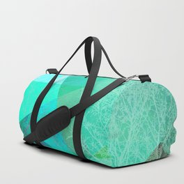 P19-B Trees and Triangles Duffle Bag