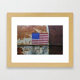 Rusted Glory Framed Art Print