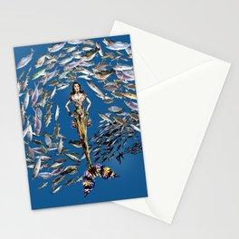 Mermaid in Monaco Stationery Cards