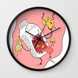 Milk n' Cookies  Wall Clock