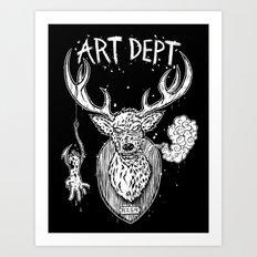 Art Department T-Shirt Art Print