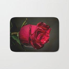 Wet rose Bath Mat