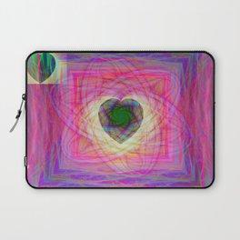 Sacred Geometry Art- Fractal Art- Abstract Art- Helix- Torus- Double Yum Laptop Sleeve