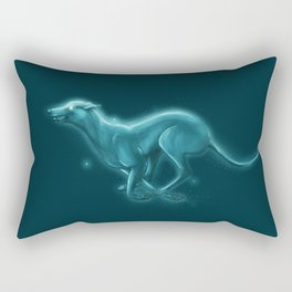 Greyhound Spirit Animal Rectangular Pillow