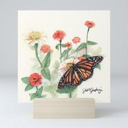 Monarch Study Mini Art Print