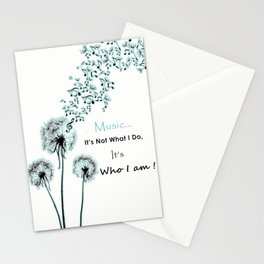 Music Stationery Cards