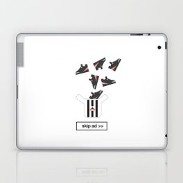 sneakers ad Laptop & iPad Skin