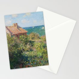 Fisherman's Cottage at Varengeville by Claude Monet Stationery Cards