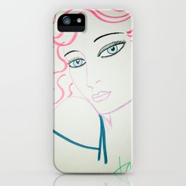 pink minx iPhone Case