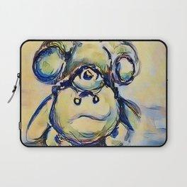 Tumbling Teddy Bear by CheyAnne Sexton Laptop Sleeve