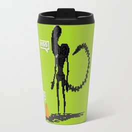 Alien vs Jonesy Travel Mug