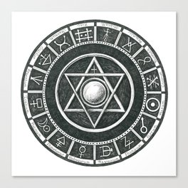 Alchemist's Seal Canvas Print