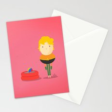 My liquid hero! Stationery Cards