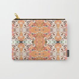 Tile Teal Tea Party Carry-All Pouch