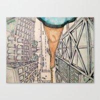 vertigo Canvas Prints featuring Vertigo by Rene Robinson
