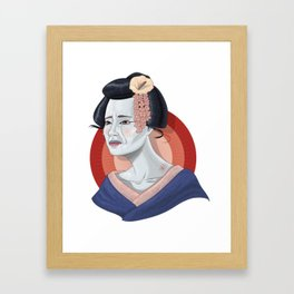 Geisha No Itami Framed Art Print