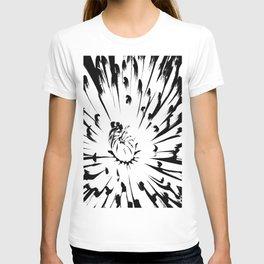 Large Chrysanthemum - BWScale T-shirt