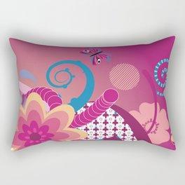 Pinky Rectangular Pillow