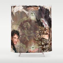 Mind Palace Shower Curtain
