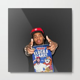 Waka Flocka Flakes | Rappers and Cereal Metal Print