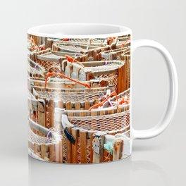 Traditional Lobster Traps Coffee Mug