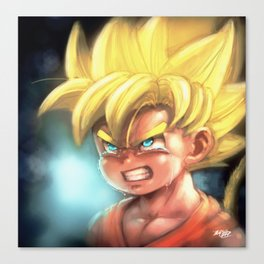 The Kid Super Warrior Canvas Print