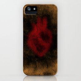 Heart Implosion iPhone Case