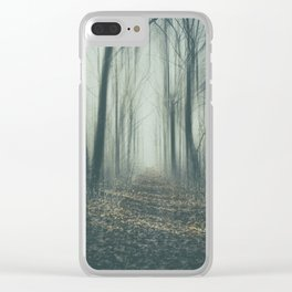 Forest of Mysteries Clear iPhone Case