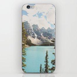 Moraine Lake II Banff National Park iPhone Skin