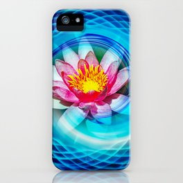 Wellness Water Lily iPhone Case