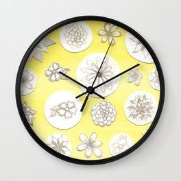 #66. ANNIE - Flowers Wall Clock