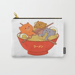 Ramen and cats Carry-All Pouch