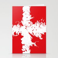 denmark Stationery Cards featuring in to the sky, Denmark  by seb mcnulty