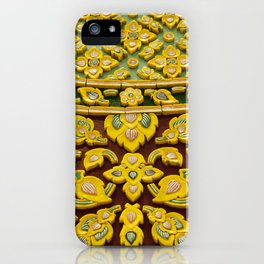 flower statue in Thai style iPhone Case