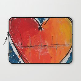 Go with you heart Laptop Sleeve