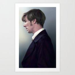 Peter Guillam - Benedict Cumberbatch Art Print