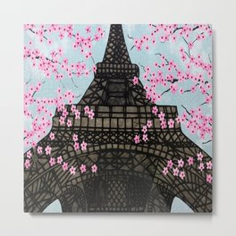 The Eiffeltower Metal Print