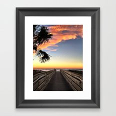 The Path to the Bright Side Framed Art Print