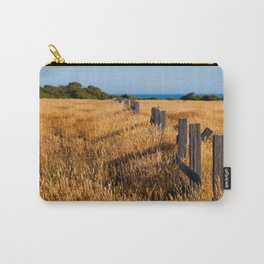 Golden Field By The Sea Carry-All Pouch