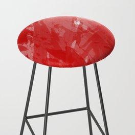 RED HOT CHILI PRINT Bar Stool