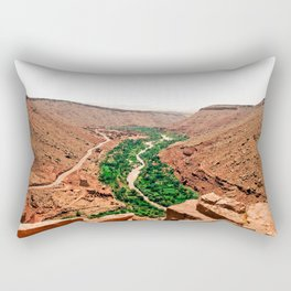 Atlas Mountain Views Rectangular Pillow