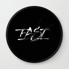 Fast Wall Clock