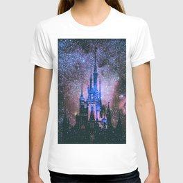 Dream castle. Into the night stars T-shirt